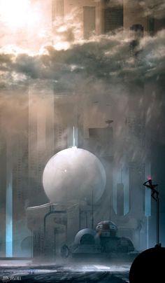 Futuristic Digital Art by Jan Urschel