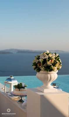 Canaves Oia Hotel & Suites, a luxury hotel in Santorini with incredible views, perfect for a wedding or honeymoon