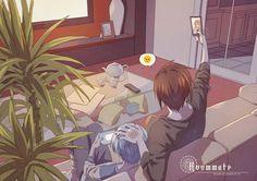 Roommate fanart   Kurotshitusji   Black Butler