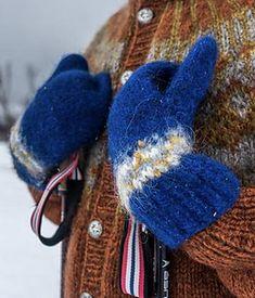 Ravelry: Villmarksgensere 2 - patterns Stockinette, Needles Sizes, Mittens, Ravelry, Knitted Hats, Winter Hats, Stitch, Wool, Knitting