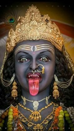 Jay Maa Kali, Kali Mata, Maa Kali Images, Durga Images, Durga Ji, Shri Hanuman, Indian Goddess Kali, Durga Goddess, Maa Kali Photo