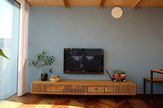室内壁のセルフ塗装(3)追加の写真 - 建築家との家作り「駐車場のない家」2011-2012