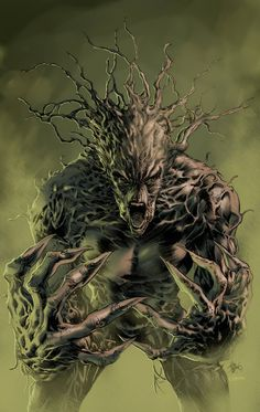 Mike Deodato, Jr. • Groot. Colors byEdson Ferreira