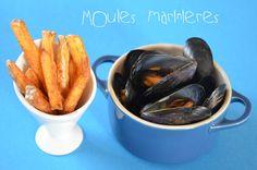 Moules marinieres et frites
