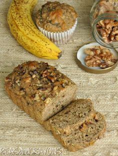 Peas and Crayons: Fluffy Flax, Fruit, & Veggie Bread