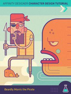 Frankentoon | Affinity Designer Illustration Tutorials