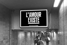 Lyon: Works by Sean Hart, street-art artist, exhibited in the metro - Trend Great Design 2019 Lyon, Love Matters, Everyday Quotes, Museum, French Quotes, French Artists, Street Artists, Some Words, Sign Quotes