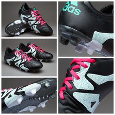 adidas X 15.3 FG/AG Leather - Core Black/Shock Pink/Shock Mint قیمت بعد از حراج: 407000 تومان کد محصول: 11856101 استعلام موجودی و ثبت سفارش با کد محصول در تلگرام