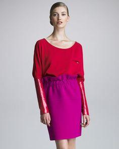 Crepe Paper Bag Skirt by Thakoon at Bergdorf Goodman.