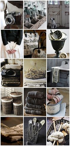 all images via: No18          daily life, crafting, needlework, DIY, cooking, laundry, pets, decoration, brocante, clothes