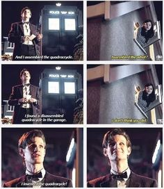 "I love how in the last one he's like ""Of course I did, I'm brilliant"""