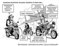 Pemburu #KomikJakarta @haryadhi