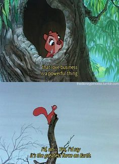 Omg it's the squirrel! I used to feel so sorry for him when I was little