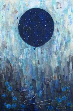 """Night Sky"" #rebouche #rebeccarebouche"
