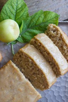 Glazed Apple Cinnamon Oatmeal Bread Recipe - BudgetMeals.info
