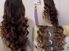 New No heat curly-wavy hair tutorial- No products, no curlers, no french braiding - YouTube