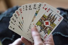 Playing simple card games can aid in your recovery from a stroke.