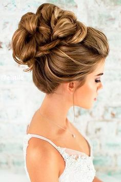 Best Wedding Hairstyle Trends 2017 ❤ This article will tell about best wedding hairstyle trends 2017 with fashion photos. See more: http://www.weddingforward.com/wedding-hairstyle-trends/ ‎ #weddings #hairstyles