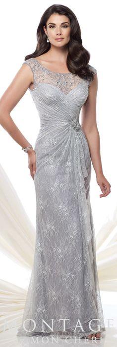 Montage by Mon Cheri Spring 2015 - Style No. 115977 montagebymoncheri.com #eveningdresses #motherofthebridedresses
