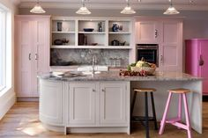 Pink Kitchen Design Ideas Pictures Decorating Houseandgarden Co