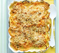 All of the comfort of warming macaroni cheese, with butternut noodles instead of pasta. Use this recipe as a base and experiment with other veggie noodles