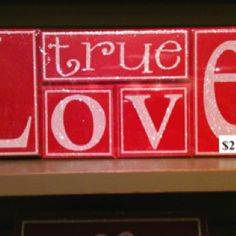 True love-blocks