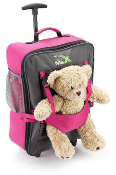 Shop for Cabin Max Bear Childrens Luggage Carry on Trolley Suitcase. Get free delivery On EVERYTHING* Overstock - Your Online Kids' Luggage & Bags Shop! Kids Luggage, Hand Luggage, Carry On Luggage, Travel Luggage, Travel Bags, Mochila Trolley, Childrens Luggage, Shopping, Viajes