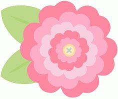 View Design: button flower