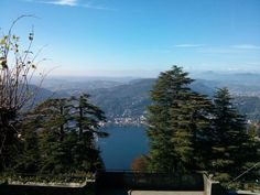 View from Brunate over Lake Como  www.hotel-posta.it