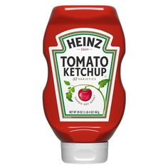 Allergens None Ingredients TOMATO CONCENTRATE FROM RED RIPE TOMATOES, DISTILLED VINEGAR, HIGH FRUCTOSE CORN SYRUP, CORN SYRUP, SALT, SPICE, ONION POWDER, NATURAL FLAVORING. Servings 1 Tbsp (17g) Gluten Free Ketchup, Ketchup Bottles, Sauces, Bacon, Fry Sauce, Corn Syrup, Gourmet Recipes, Walmart, Shopping