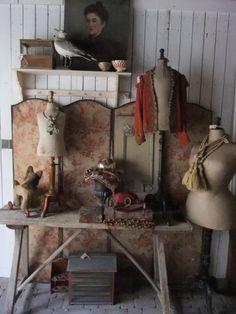 #mannequin #dressform #antique #paspop