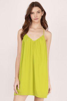 Saturday T-Strap Swing Dress
