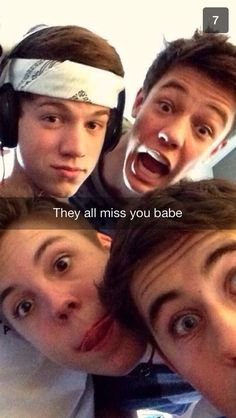 #Imagine Magcon Snap chatting You This OMG❤❤❤❤