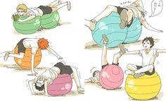 #Haikyuu #Ball #Practice