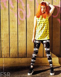 Hayley Williams for Nylon magazine, April 2013.