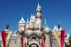 castle | Sleeping Beauty Castle Disneyland California at Christmas wallpaper ...