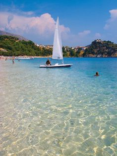 Favourite beach so far; Greece Holidays, Boating Fun, Cool Boats, Seaside Towns, Romantic Getaways, Ancient Greece, Greek Islands, Mykonos, Beach Resorts