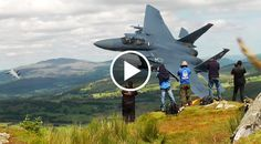 Well, Now You Know Where Your Next Vacation Is Going To Be. We once heard of a place where you can climb upon peaks in a rural area deep in Wales. Once you reach them, you can look down and see dozens, NO hundreds of wild jets roam the country side. We thought it was a myth passed down from generat