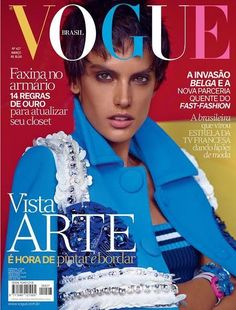 Alessandra Ambrosio for Vogue Brazil - March 2014