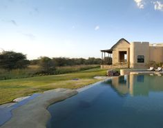 Beautiful pool design. House in the Savannah at Anantara Sir Bani Yas Island, Al Sahel Villa Resort, Abu Dhabi, UAE