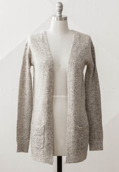 Warm and cozy, feminine sweater.