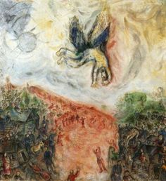 The Fall of Icarus - Marc Chagall