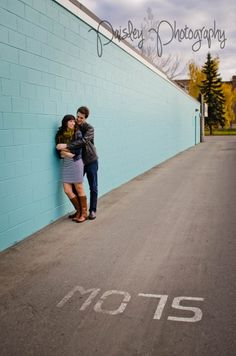 Calgary 17th Ave Engagement - Calgary Wedding Photographer | Paisley Photography - engagement photography - urban engagement photos