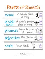 Parts of Speech Printables