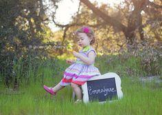 Sweet Emmalynne | Orange County Photographer | Lissarie Photography - 18 month old girl