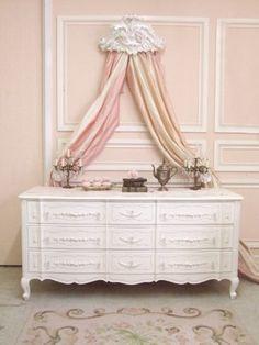 40 esempi di arredamento shabby chic per la camera da letto ... - Letto Country Chic
