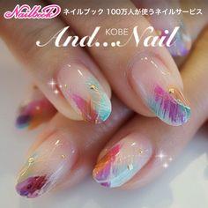 Mari Shirakawa ★ Kobe and Nail's gel nail, colorful, hand, nail ♪ that treatment to the customer [763726]   Nail book