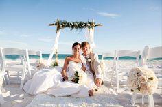 Beach Wedding Destin, Florida Beach Wedding Santa Rosa, Florida Beach Wedding