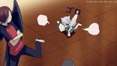 Kurama, Tomoe and Nanami  -Kamisama Hajimemashita  K- He can sleep on the floor N- What he still has a fever T- ouff