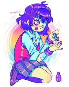 Byakuya Togami, Popular Anime, Sticker Design, Tokyo Ghoul, Cute Drawings, Otaku, Cool Art, Indie, Geek Stuff